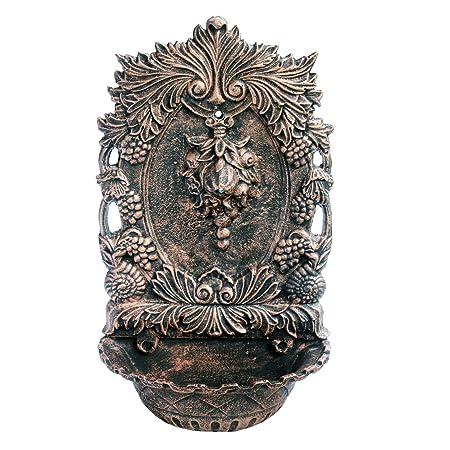 Karara Mujassme Victorian Style Cast Iron Antique Gold Fountain Home Interior Décor