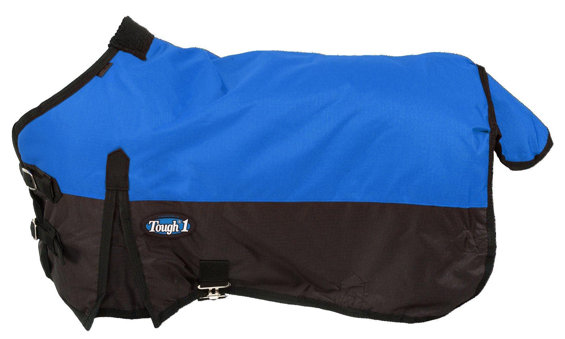 Tough 1 600D Waterproof Poly Miniature Turnout Blanket, Royal Blue, 50'' by Tough 1