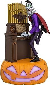 Hallmark Halloween Ornament 2019 Monster Mash Collection Dracula on Organ