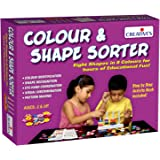 Creative Educational Aids 0698 Colour and Shapes Sorter