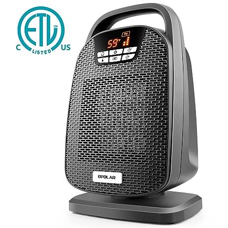Amazon.com: Ceramic Space Heater, Indoor Digital Oscillating ...