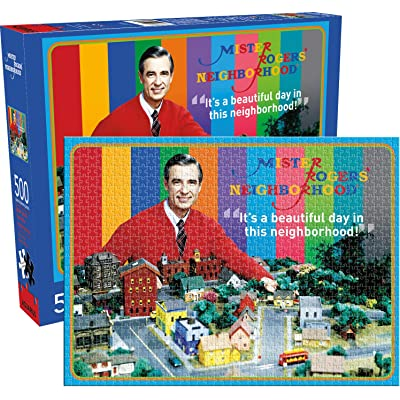 Mr Rogers 500pc Puzzle: Toys & Games