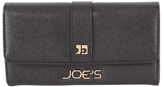 2b6b589cc26d2 Joe s Jeans Original Zip Around Wallet - Black at Amazon Women s ...