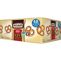 Deals on 48-Pack Snyders of Hanover Mini Pretzels 1.5 oz.