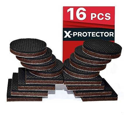 Premium Non Slip Furniture Pads 16 Piece 2 Best Selfadhesive