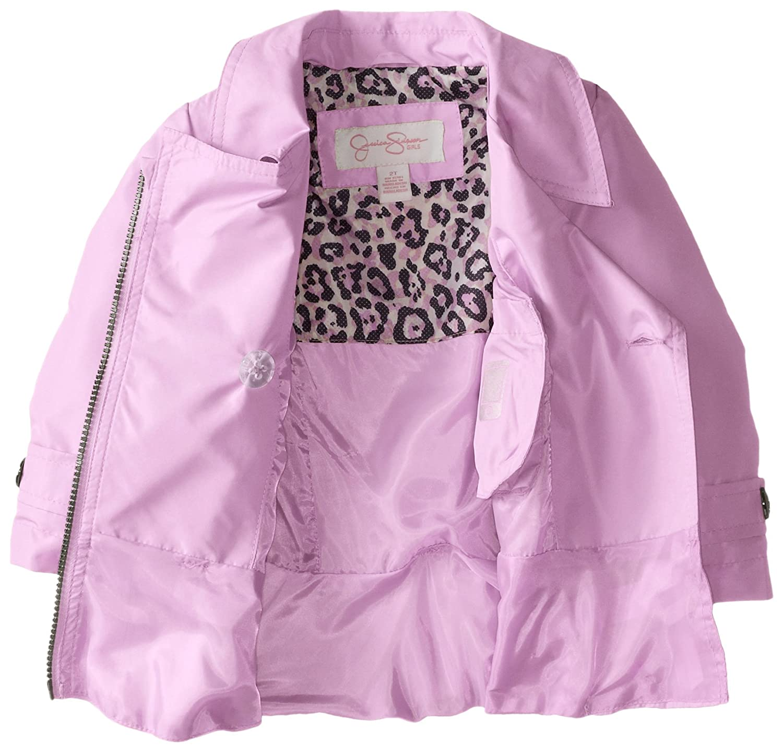 Jessica Simpson B06XXJF9YN Little Girls Trench Coat Coat 19931 with ...