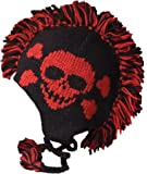 Nirvanna Designs CH120M Skull Mohawk Hat with Fleece