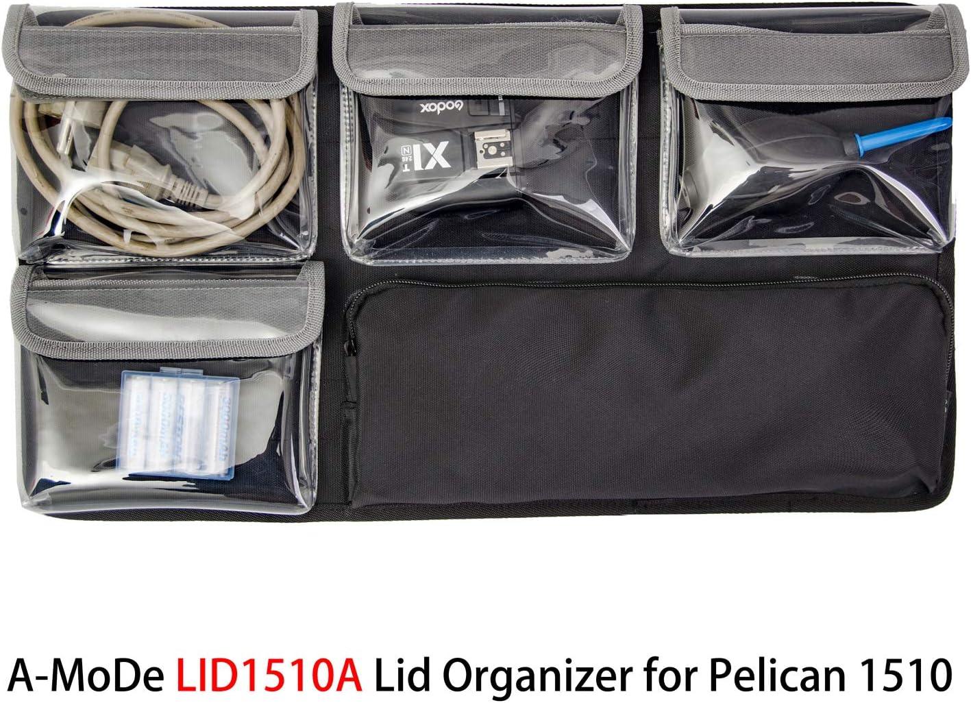 A-Mode iN1510 - Separadores Acolchados + Organizador de Tapa LID1510A para Pelican 1510 (sin Funda): Amazon.es: Electrónica