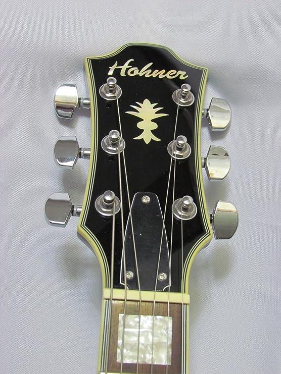 Hohner HS-35 Vintage Sunburst guitarra eléctrica: Amazon.es ...
