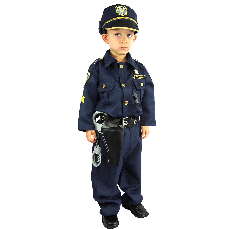 Spooktacular Creations Disfraz de Oficial de polic/ía ni/ños XS