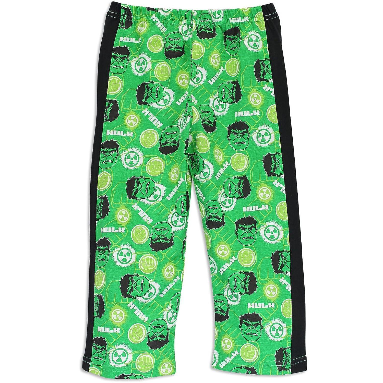Amazon.com: Incredible Hulk Boys' Marvel Avengers The Hulk Pajamas ...