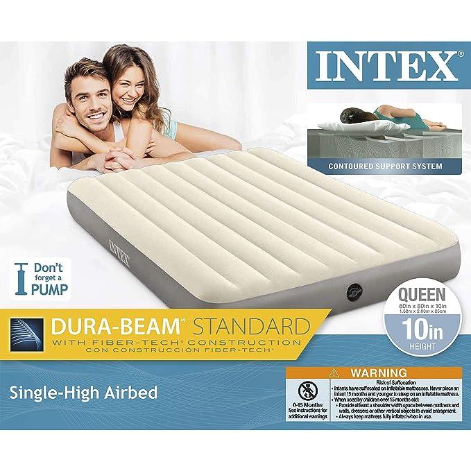 Colchón de Aire Intex Dura-Beam: Amazon.es: Hogar