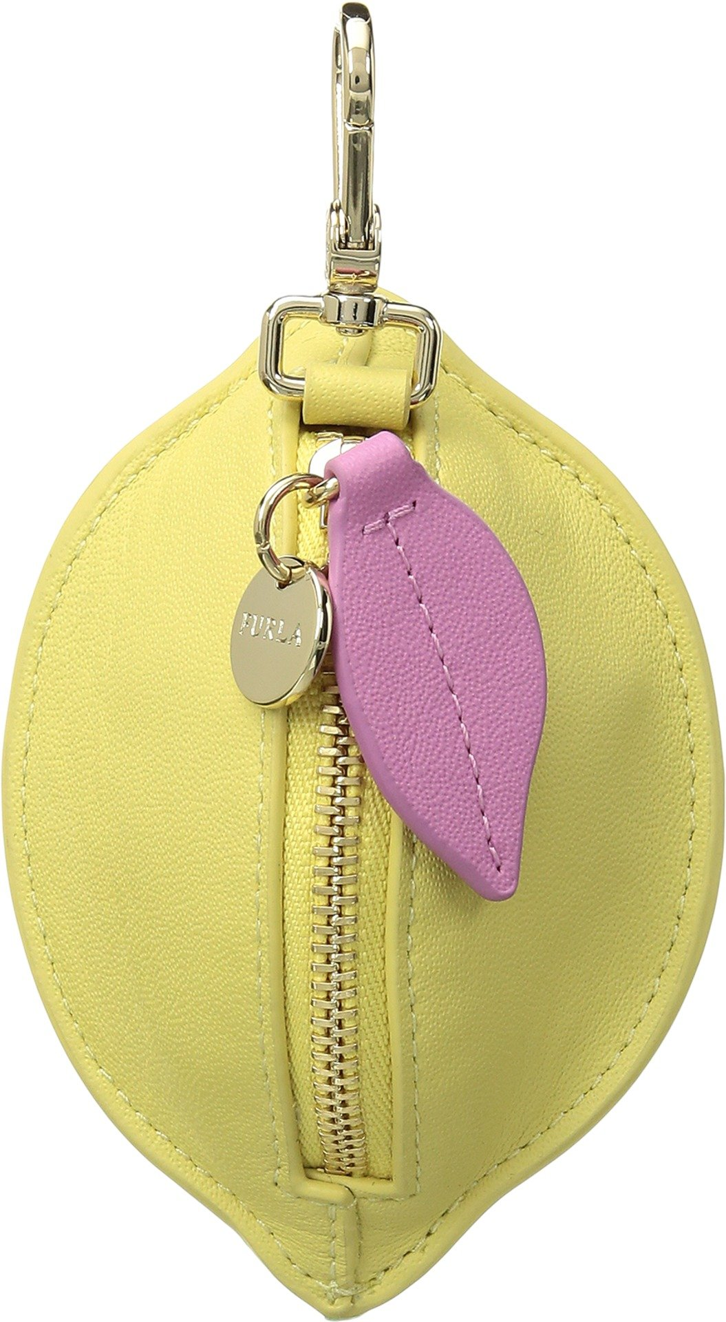 Furla Women's Golosa Small Coin Case Limone Cedro One Size