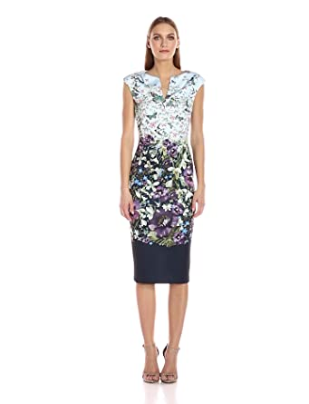 Amazon.com: Ted Baker Women\'s Tiha Entangled Enchantment Dress ...