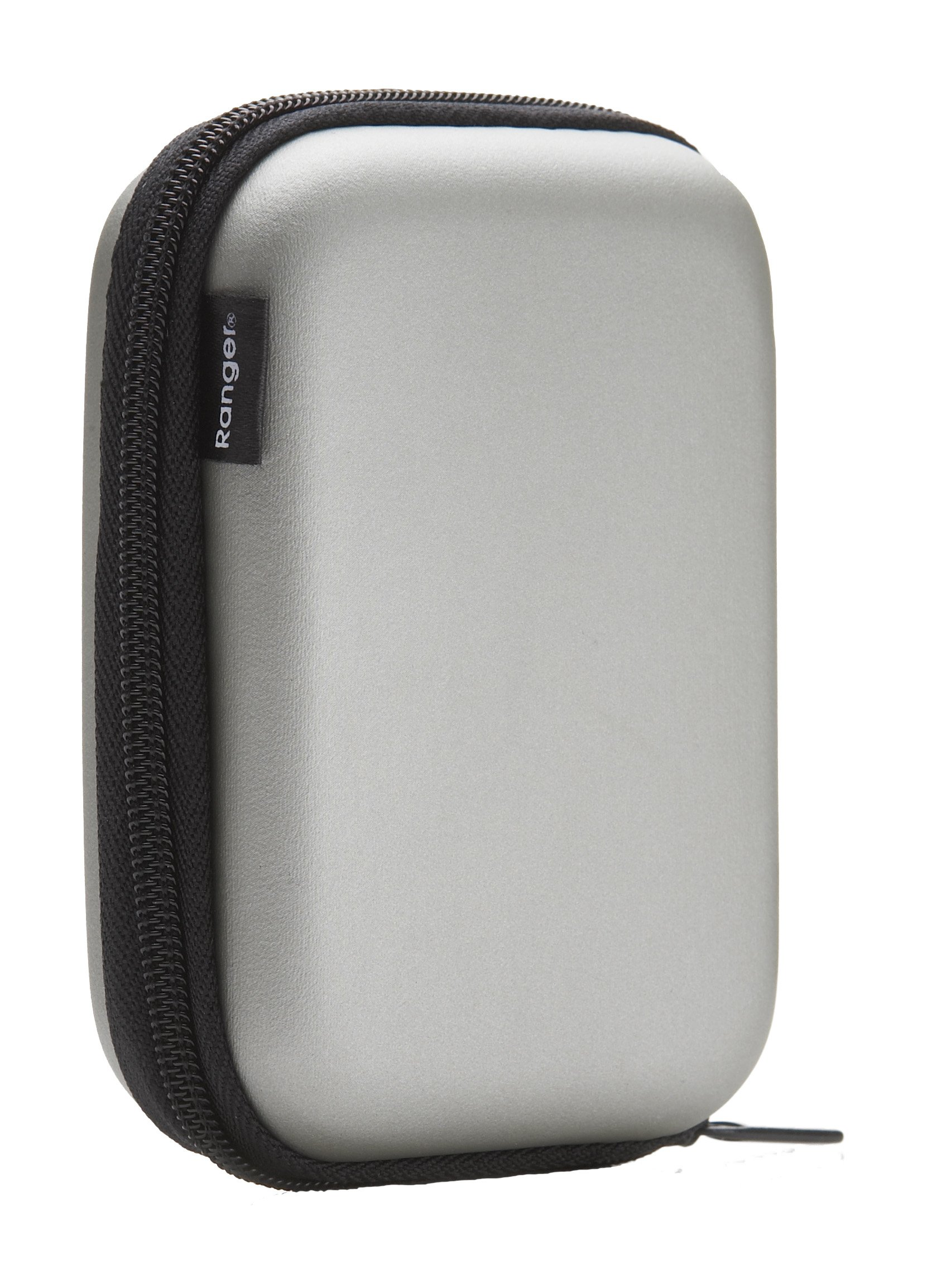 Cygnett R-C-HSCS Explorer Hard Shell Case for Camera, GPS, PDAs and MP3 Players (Silver) by Swann