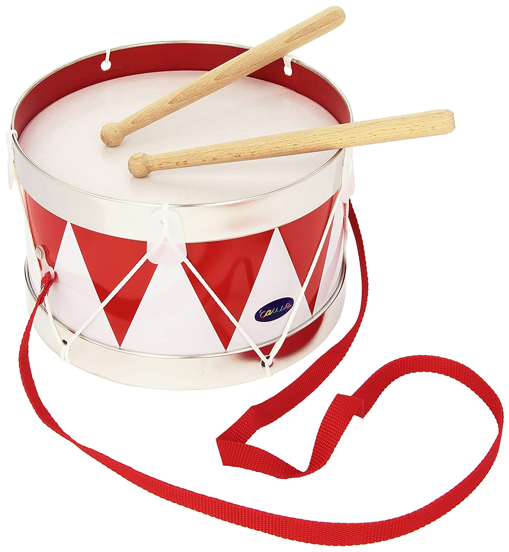 Cause 61001 - Musikinstrument - Blechtrommel Goki Musikspielwaren
