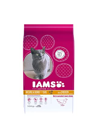 IAMS Proactive Health Mature & Senior Rich In Chicken Comida para Gatos - 10000 gr