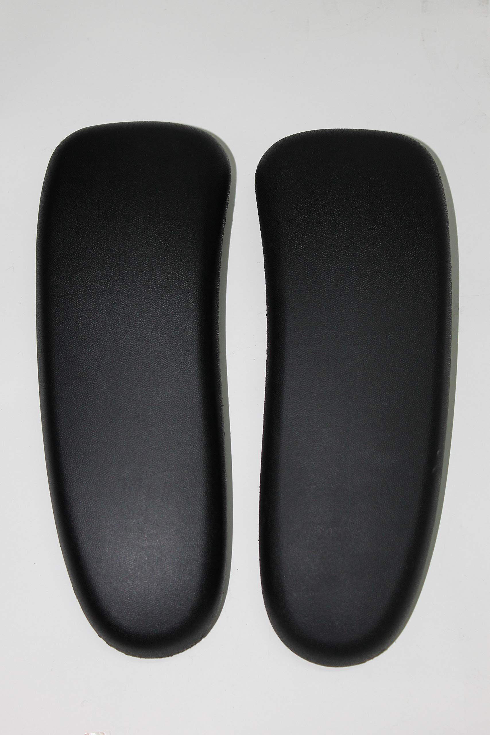 Arm Pads Pad Black Vinyl for Herman Miller Aeron Classic Pair