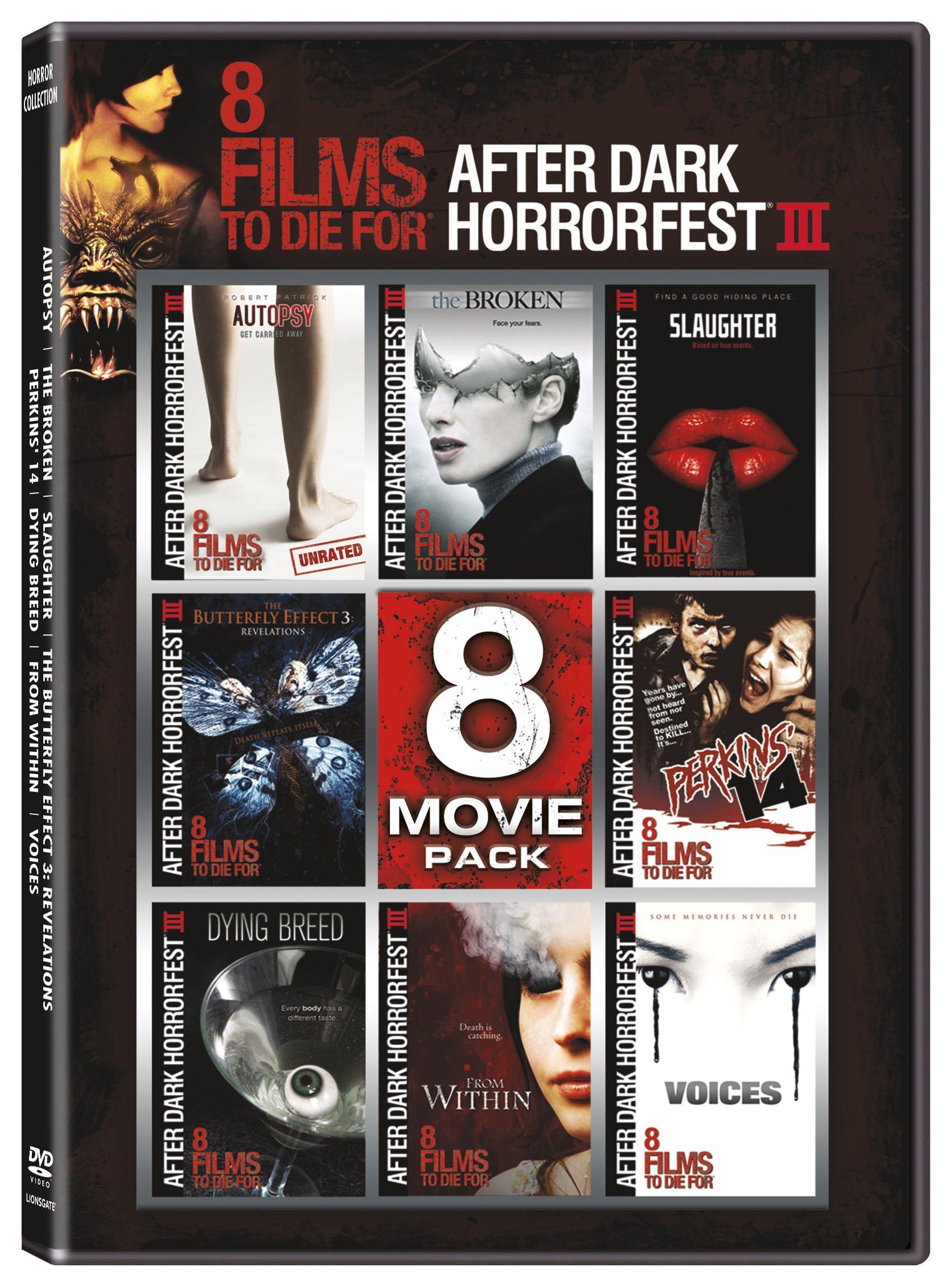 DVD : Afterdark Horrorfest: 8 Movie Pack (Widescreen, 2 Disc)