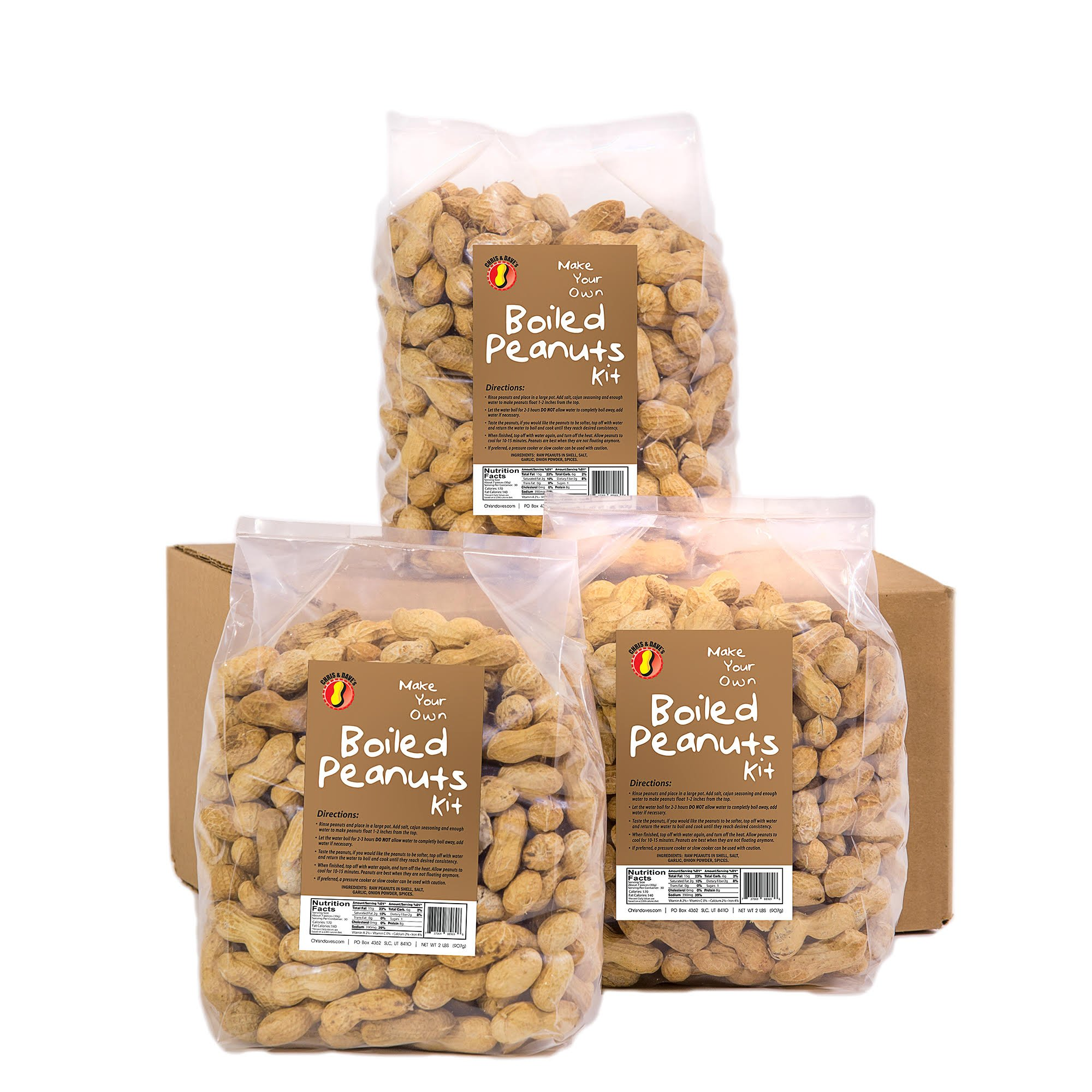 Make Your Own Boiled Peanuts Kit- 3 Pack (3 pack) by Chris & Dave's