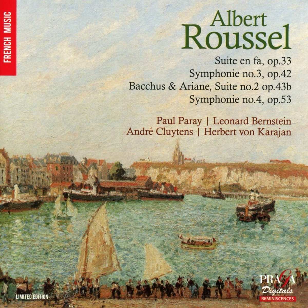 SACD : Roussel - Roussel: Symphonies Nos.3 And 4, Suites (SACD)