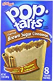 Pop-Tarts, Frosted Brown Sugar Cinnamon, 8-Count Tarts, 14 Ounce, (Pack of 12)