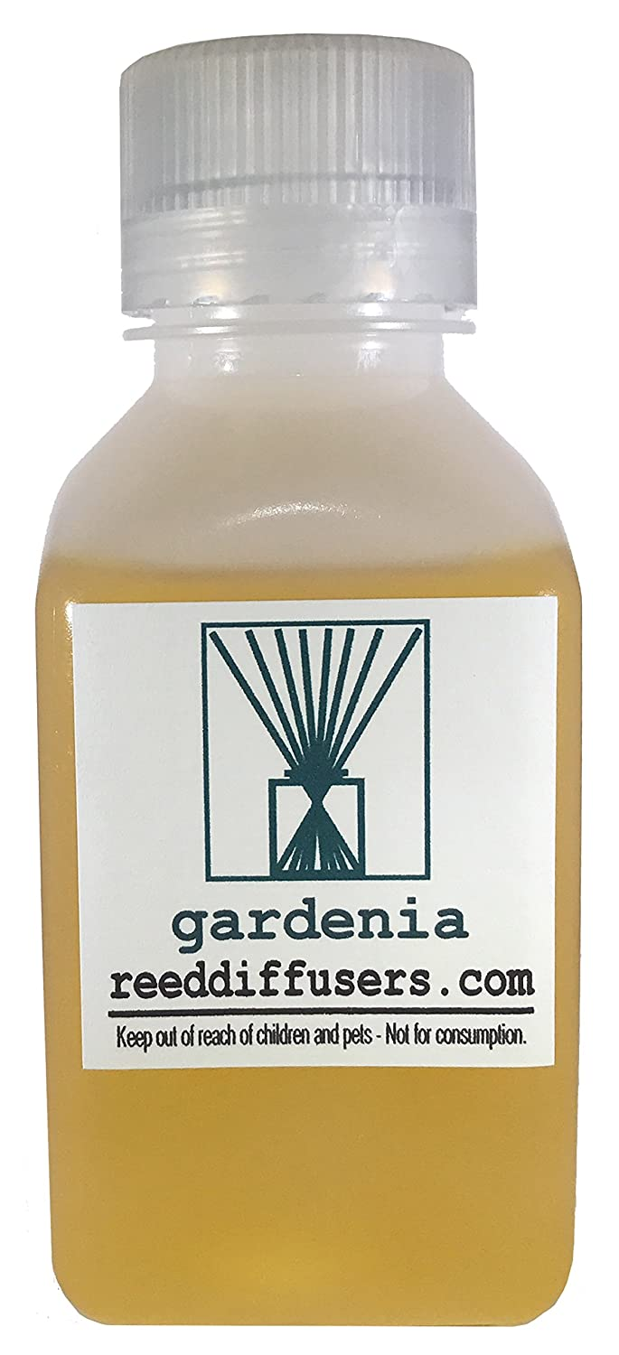 Gardenia Fragrance Reed Fragrance Diffuser Oil in Made Refill – 8oz – Made in the USA B06XG9NRJ6, 住まeるデパート:a9e58746 --- cosp.top