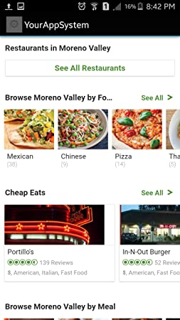 Amazoncom Restaurants In Moreno Valley Us Appstore For Android