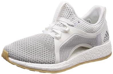 big sale b8bbf abcbd Adidas Womens Pureboost X Clima FtwwhtSilvmtGretwo Running Shoes-5 UK