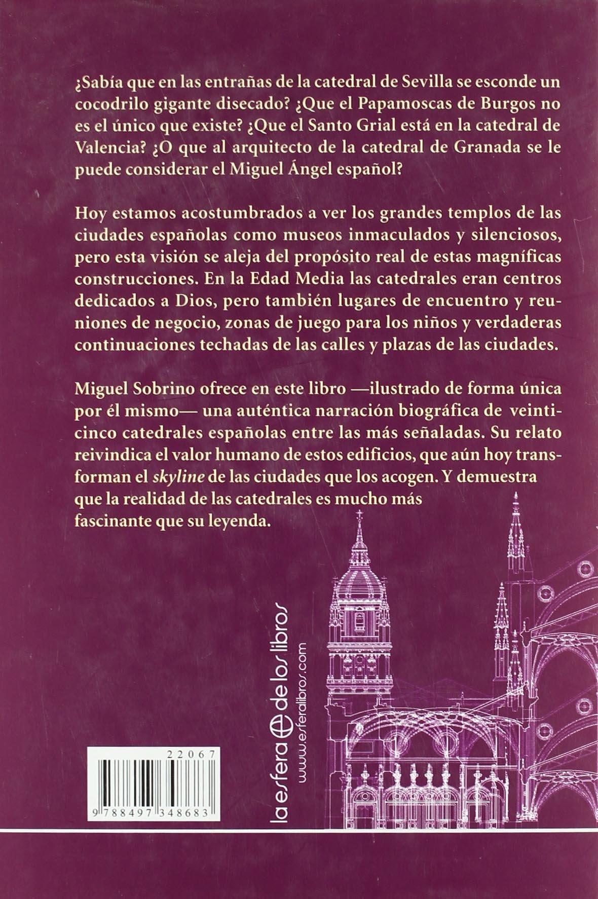 Catedrales - las desconocidas biografias de los grandes templos de España Historia Divulgativa: Amazon.es: Sobrino, Miguel: Libros