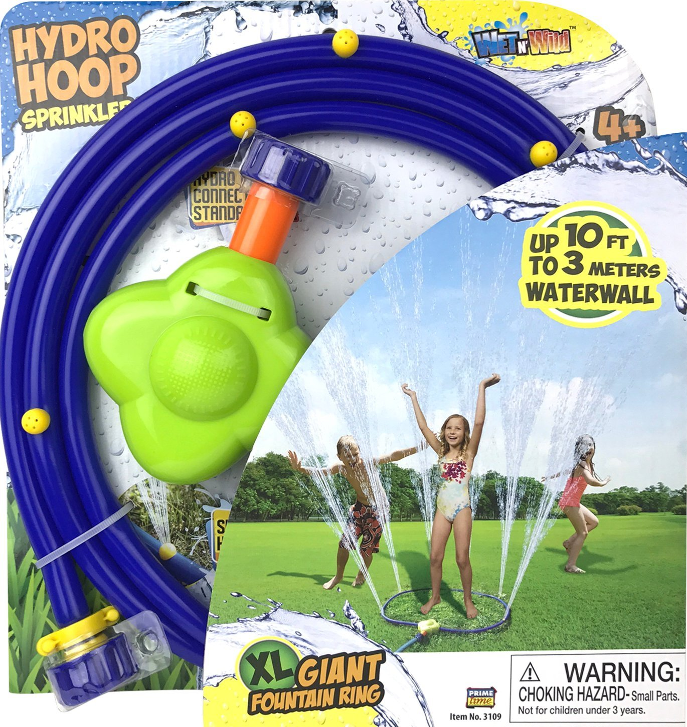 Wet N' Wild Hydro Hoop Sprinkler Ring