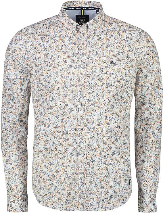 LERROS Camisa con Estampado: Amazon.es: Ropa y accesorios
