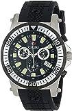 Calibre Men's SC-4H2-04-007 Hawk Chrono Analog Display Quartz Black Watch