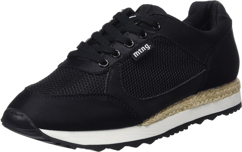 MTNG Vita, Zapatillas de Deporte para Mujer, Negro (Raso Negromesh Negro), 40 EU: Amazon.es: Zapatos y complementos