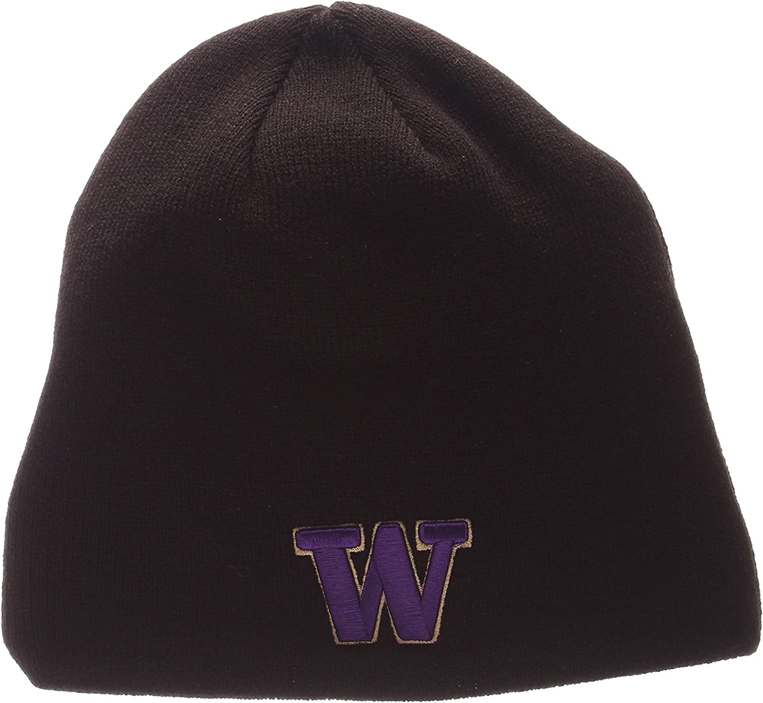 Zephyr NCAA Winter Knit Toque Cap ZHATS Edge Skull Cuffless Classic Beanie Hat