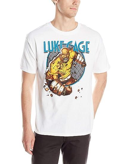 Marvel Men's Cage Match T-Shirt