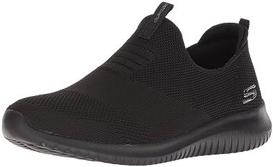4b867583d Skechers Sport Women's Ultra Flex-First Take Sneaker,black,5 ...
