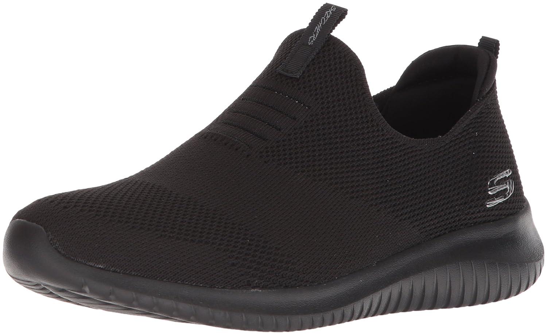 Skechers Ultra Flex-First Take, Zapatillas sin Cordones para Mujer 39 EU|Negro (Black Bbk)