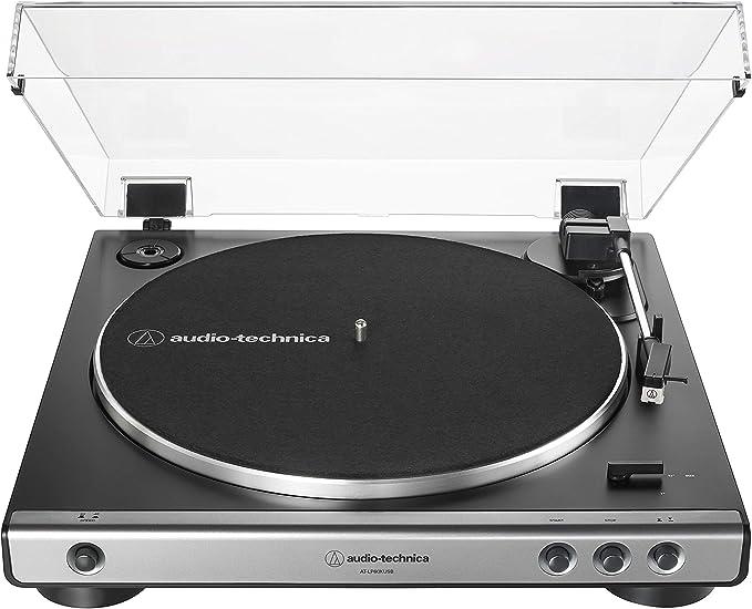 Amazon.com: Audio-Technica AT-LP60XUSB-BK - Tocadiscos USB ...