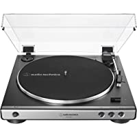 Audio-Technica AT-LP60XUSB-GM Fully Automatic Belt-Drive Stereo Turntable (Analog & USB), Gunmetal, Hi-Fidelity, Plays…