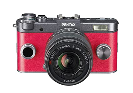 Pentax Q-S1 + 5-15mm - Cámara Evil, Plata: Amazon.es: Electrónica
