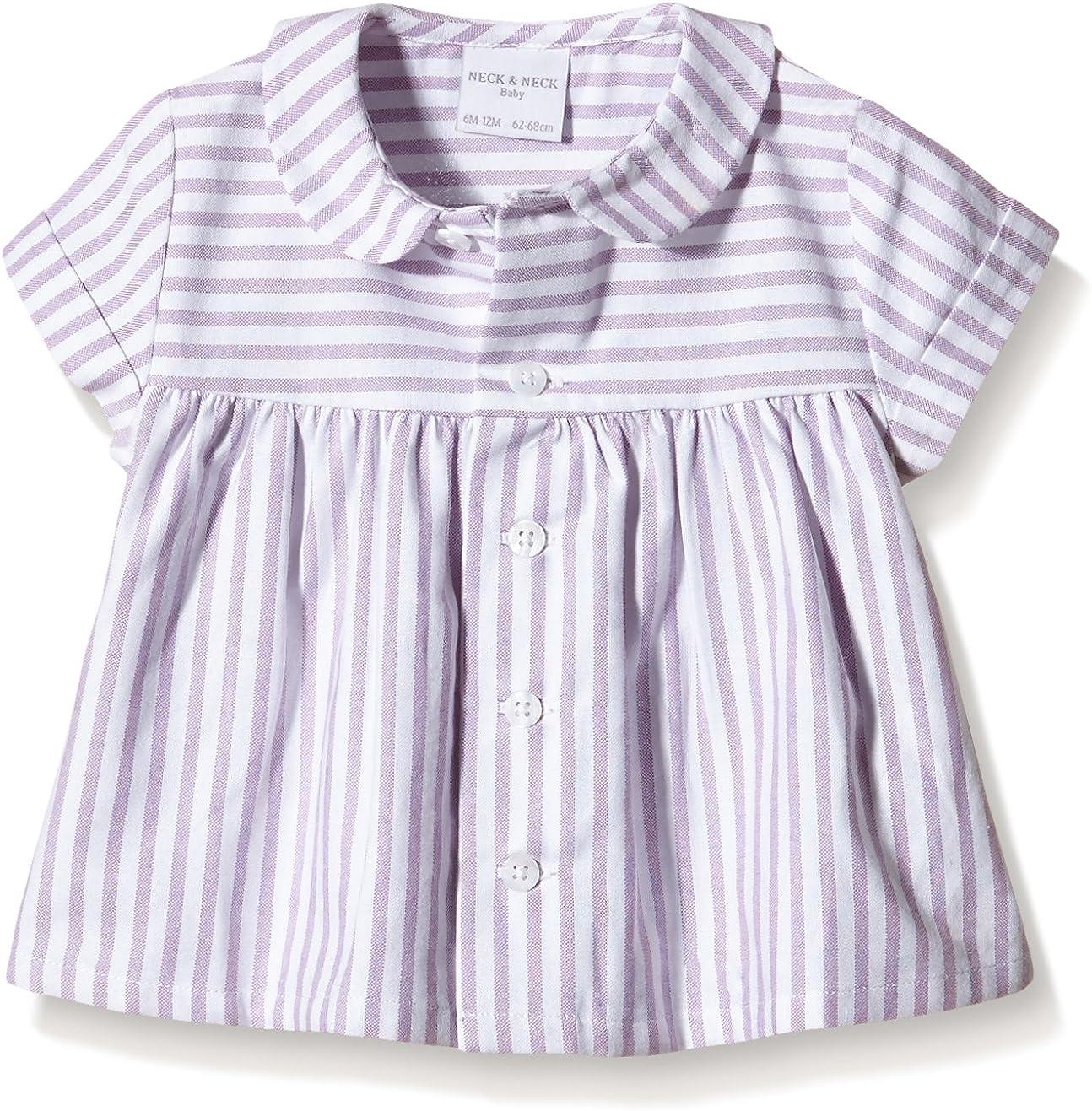 neck & neck Camisa Bebe, Pink-Mauve/Rosa Malva 36, 12M ...