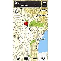 Garmin Topo Österreich V3 Freizeit und Wanderkarte für GPS-Geräte, auf microsd und dvd, 010-11289-01