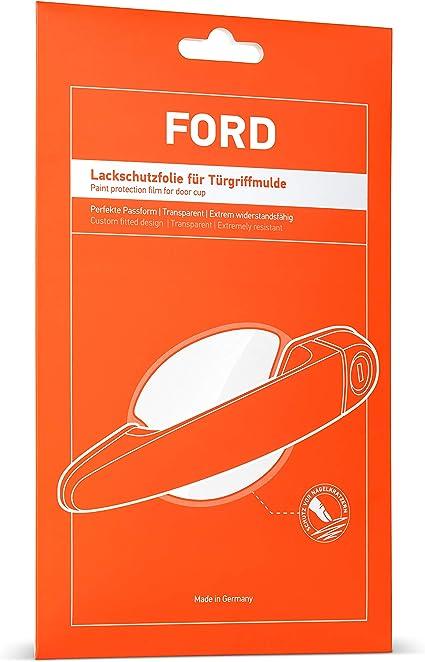 Luxshield Auto Türgriff Schutzfolie Griffmulde Für Focus Turnier 4 Iv Hp I 2018 2020 Kratzschutz Lackschutzfolie Transparent Glänzend Auto