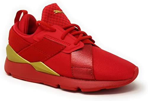 PUMA Muse Metal Straps PS (11) Red   運