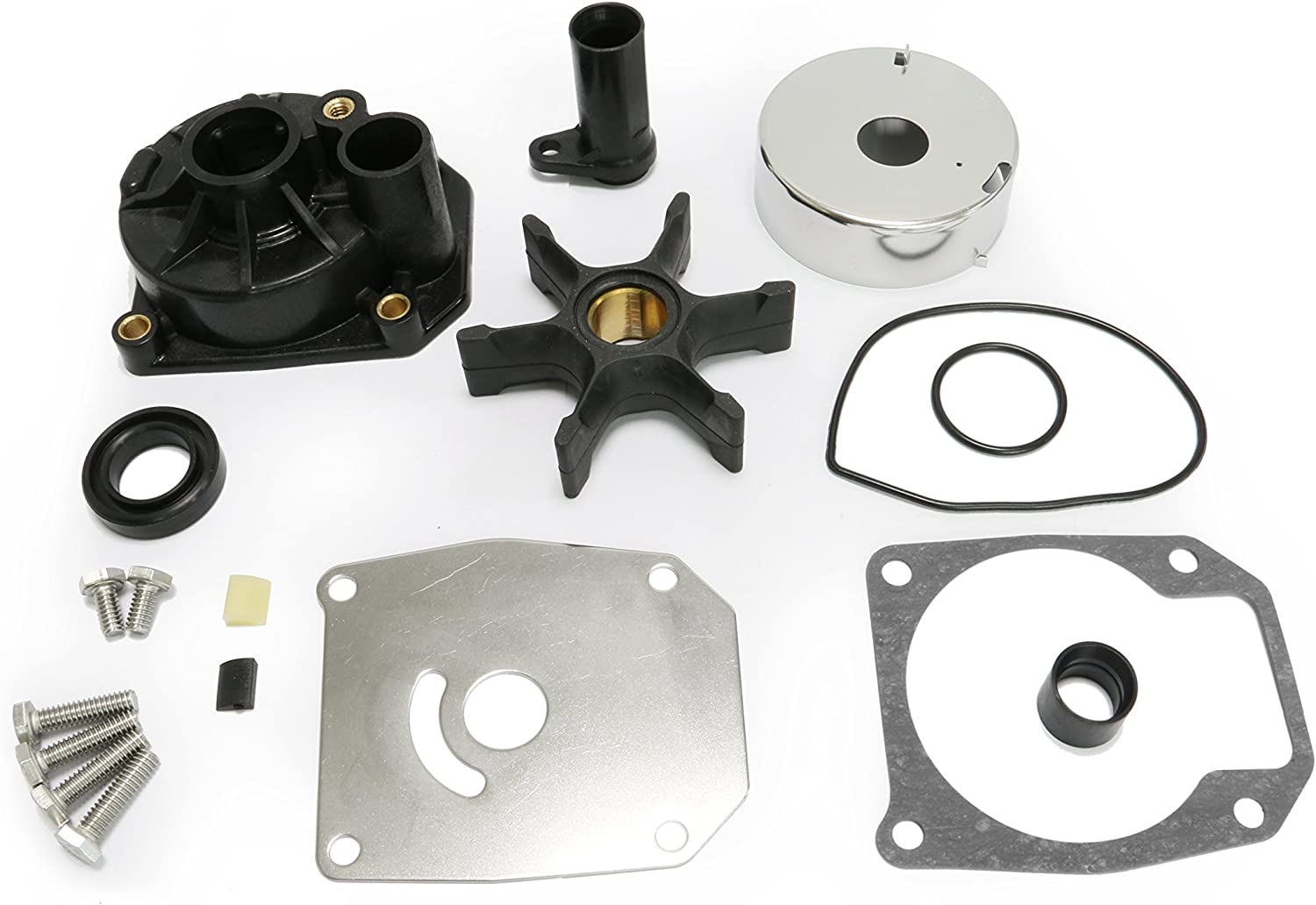 Createshao Outboard Water Pump Kit for Johnson Evinrude Boat Engine 432955 65//70//75 HP OMC