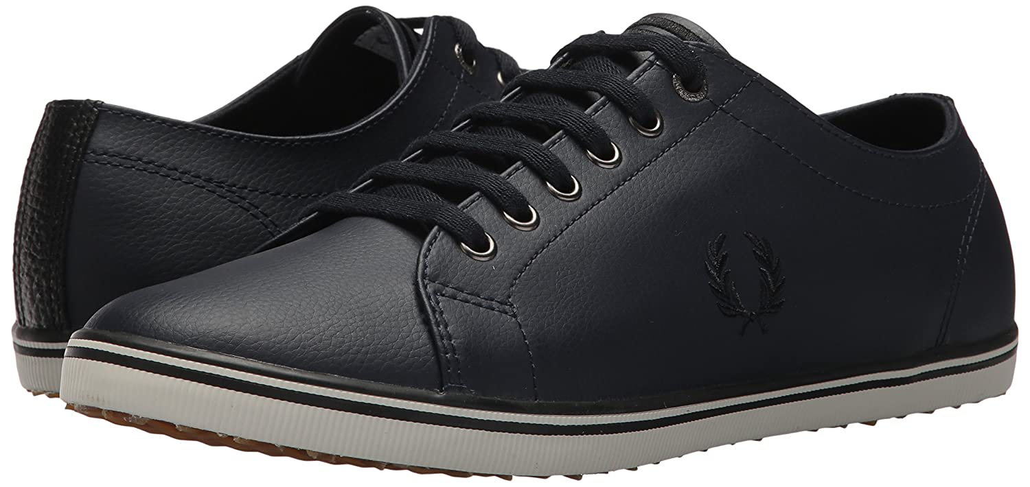 Fred Perry Kingston Leather Sneaker B076CZ3HZV 9.5 D UK (10.5 US)|Navy
