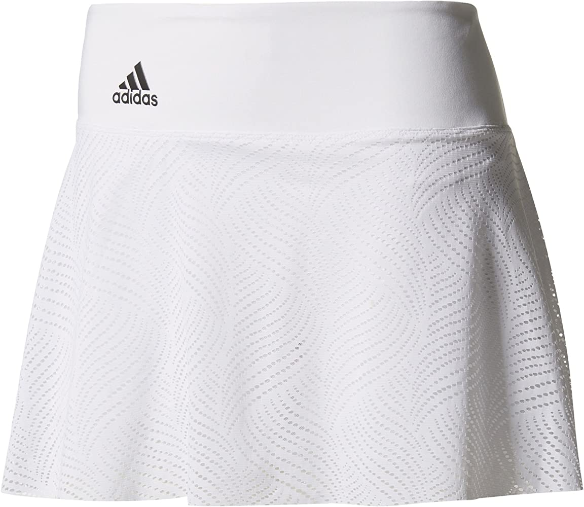 adidas Ll Falda de Tenis, Mujer, Blanco (nocmét), S: Amazon.es ...