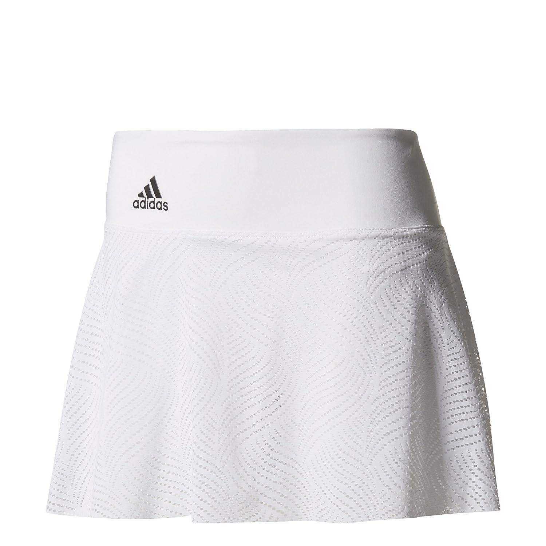 adidas Ll Falda de Tenis, Mujer, Blanco (nocmét), ...