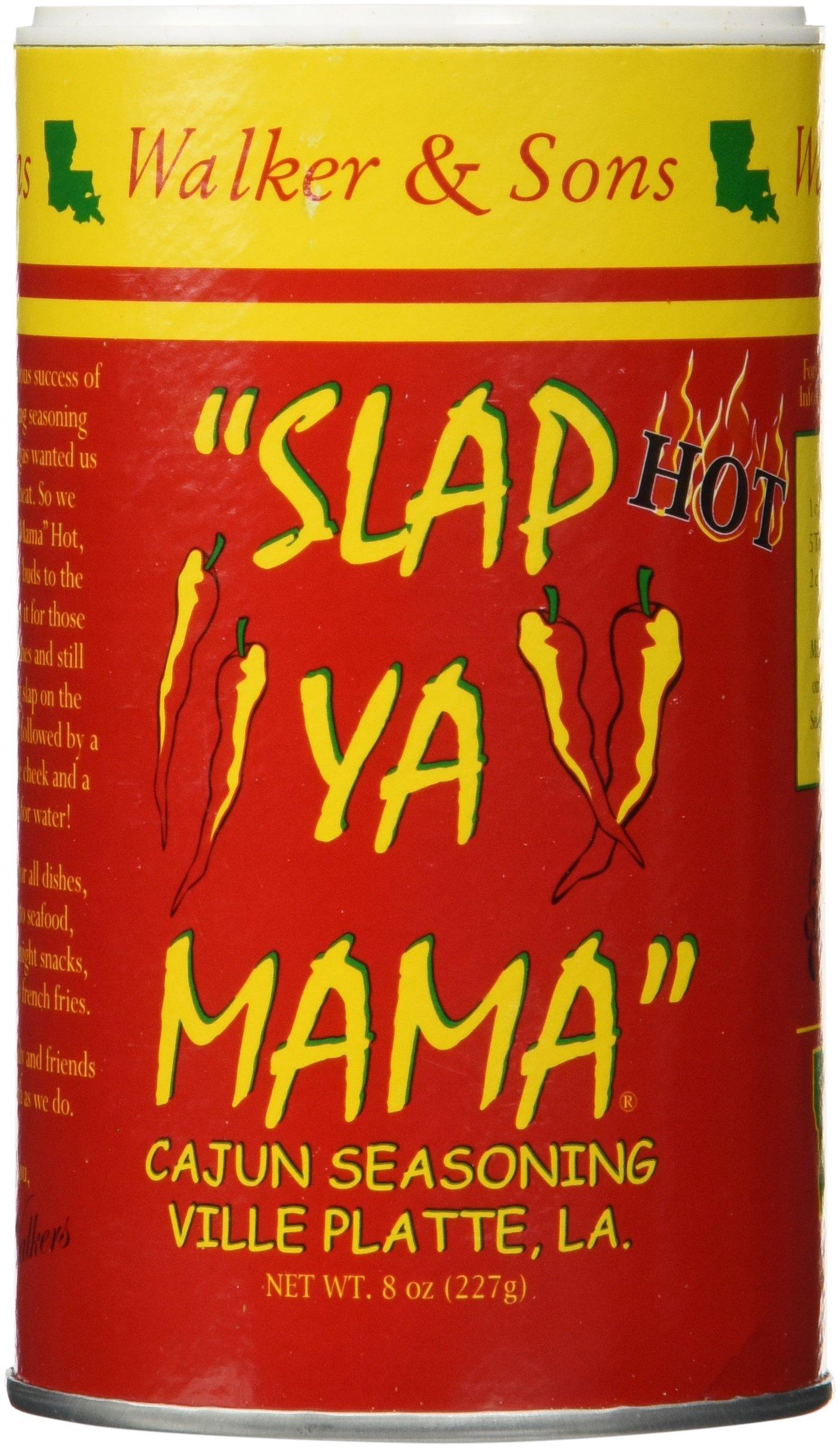Slap Ya Mama Cajun Seasoning Hot Blend Two Pack